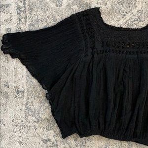Jen's Pirate Booty Boho Crop Top